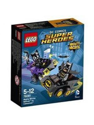 LEGO Marvel Super Heroes - 76061 mighty micros: batman contro catwoman