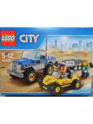 LEGO City - 60082 - Rimorchio dune buggy