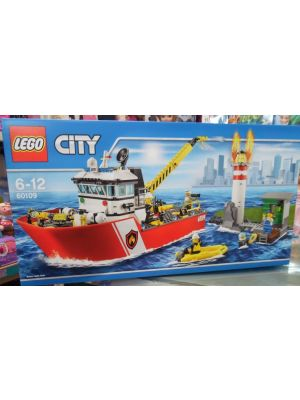LEGO City - 60109 - motobarca antincendio