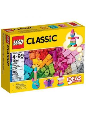 LEGO Classic - 10694 - accessori colorati creativi