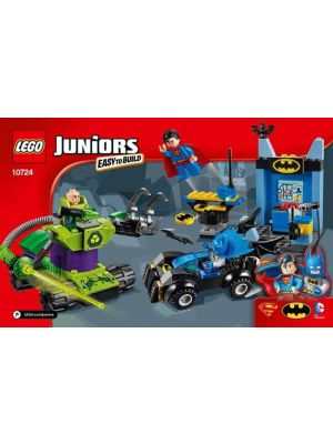 LEGO Juniors - 10724 batman superman vs lex luthor