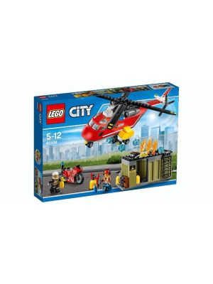 LEGO City - 60108 - unità risposta antincendio