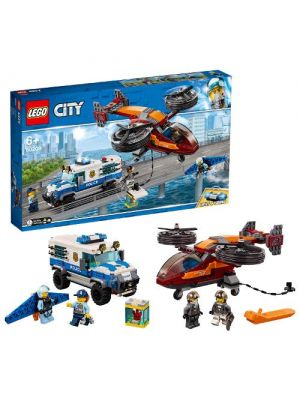 LEGO City 60209 Polizia Aerea: Furto di Diamanti