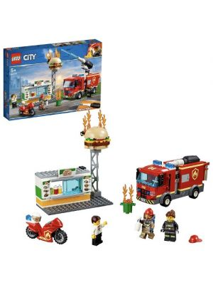 LEGO City 60214 Fiamme al Burger Bar