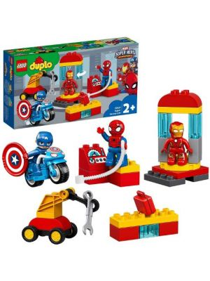 LEGO Duplo Marvel 10921 Il Laboratorio dei Supereroi