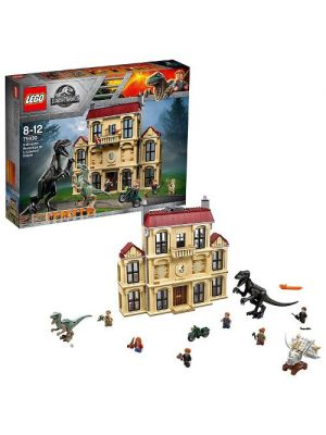 LEGO Jurassic World - 75930 Attacco dell'Indoraptor al Lockwood Estate