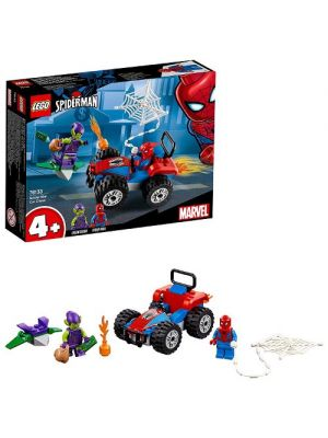 LEGO Marvel Super Heroes 76133 Inseguimento in Auto di Spider-Man