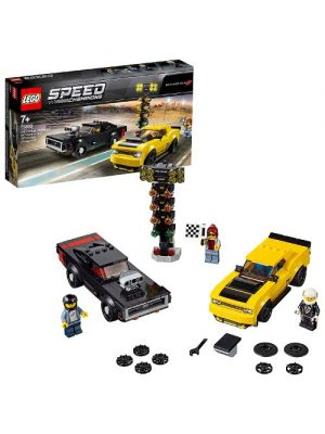 LEGO Speed Champions 75893 2018 Dodge Challenger SRT Demon e 1970 Dodge Charger R/T