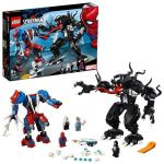 LEGO Marvel Super Heroes 76115 Mech di Spider-Man vs. Venom